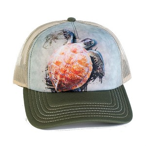 Sea Turtle Climb - 76-5947 - Trucker Hat