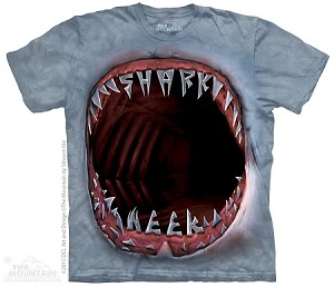 Shark Week Mouth - Adult Tshirt