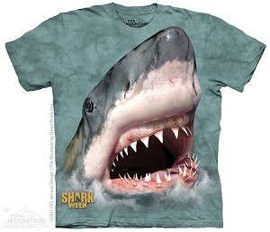 Shark Week Sharktastic Green - Adult Tshirt