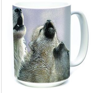 Singing Lesson Wolves - 57-3540-0901 - Everyday Mug