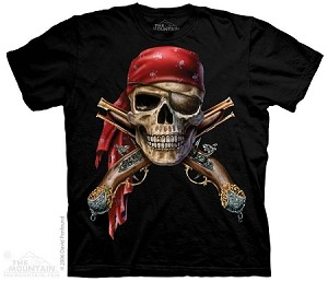 Skull And Muskets - Adult Tshirt