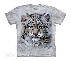 Snow Leopard Baby - Youth Tshirt