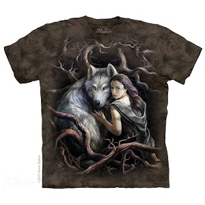 Soul Bond Wolf - 10-5920 - Adult Tshirt