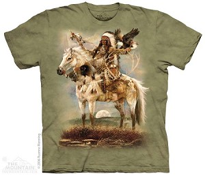 Native American Spirit - Adult Tshirt - Native American