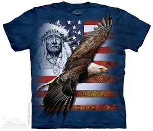 Spirit of America - Adult Tshirt - Native American