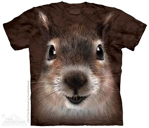 Squirrel Face - Adult Tshirt