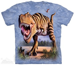 Striped T-rex - 15-4046 - Youth Tshirt