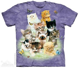 Ten Kittens - 10-1080 - Adult Tshirt
