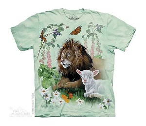 The Lion And The Lamb - Youth Tshirt