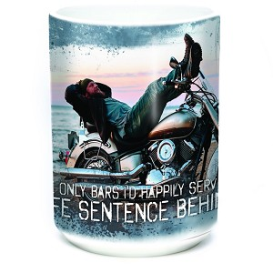 The Only Bars I'd Happily Serve A Life Sentence Behind - 57-6311-0901 - Coffee Mug