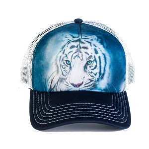 Thoughtful White Tiger - 76-5964 - Trucker Hat