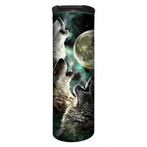 Three Wolf Moon - 59-2053 - Stainless Steel Barista Travel Mug