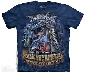 Truckers - Backbone Of America - Adult Tshirt