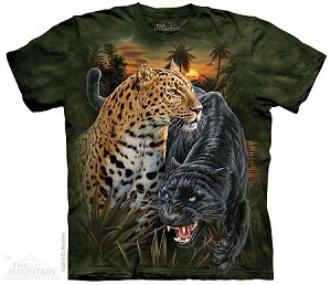 Two Jaguars - 10-4342 - Adult Tshirt