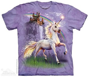 Unicorn Castle - Adult Tshirt