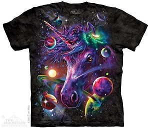 Unicorn Cosmos - Adult Tshirt
