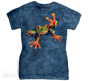 Victory Frog - Ladies Fitted Tee