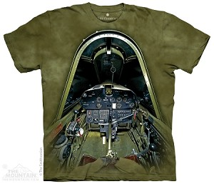 Vought F4U-1D Corsair Cockpit - Adult Tshirt