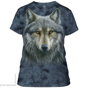 Warrior Wolf - 28-4979 - Ladies Fitted Tee