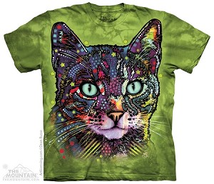 Watchful Cat - Adult Tshirt - 10-4127
