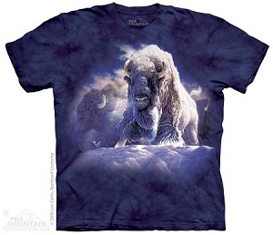 His Divine Presence...White Buffalo - Adult Tshirt