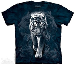 White Tiger Stalk - Youth Tshirt