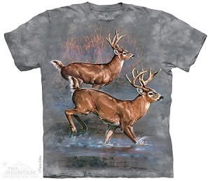 Whitetail Run - 10-4311 - Adult Tshirt