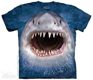 Wicked Nasty Shark - Adult Tshirt