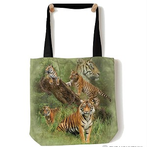 Wild Tiger Collage - 97-5888 - Everyday Tote