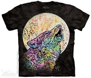 Russo Howling Wolf - Adult Tshirt