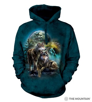Wolf Lookout - Adult Hoodie - 72-4978