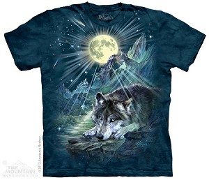 Wolf Night Symphony - Adult Tshirt