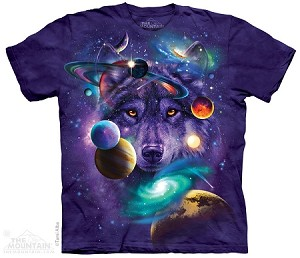 Wolf Of The Cosmos - 10-4308 - Adult Tshirt