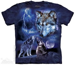 Wolves Of The Storm - Adult Tshirt
