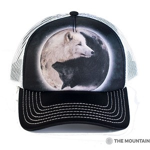 Yin Yang Wolves - 76-3922 - Trucker Hat