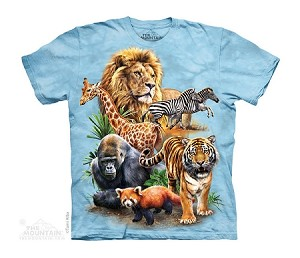 Zoo Collage - Youth Tshirt - 15-4312