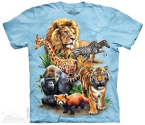 Zoo Collage - Adult Tshirt